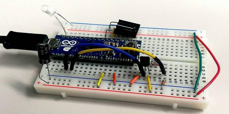 Featured-Arduino Temperature and Light sensors