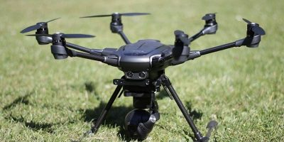 Featured Drone on grass