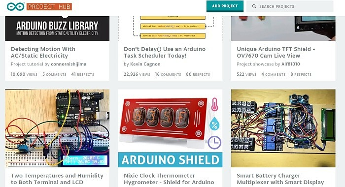 Iot Projects On Arduino Project Hub1