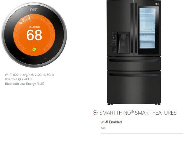 Nest Thermostat And Lg Smart Thinq Refrigerator Protocols