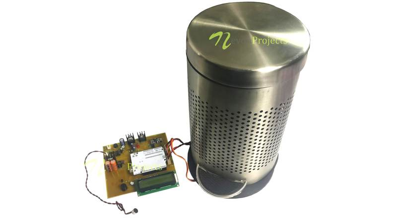 Arduino Iot Projects Smart Dustbin