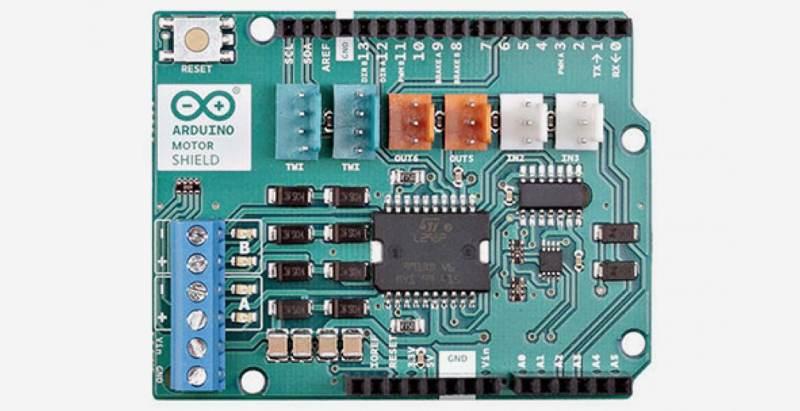 Arduino Shields Motor Shield