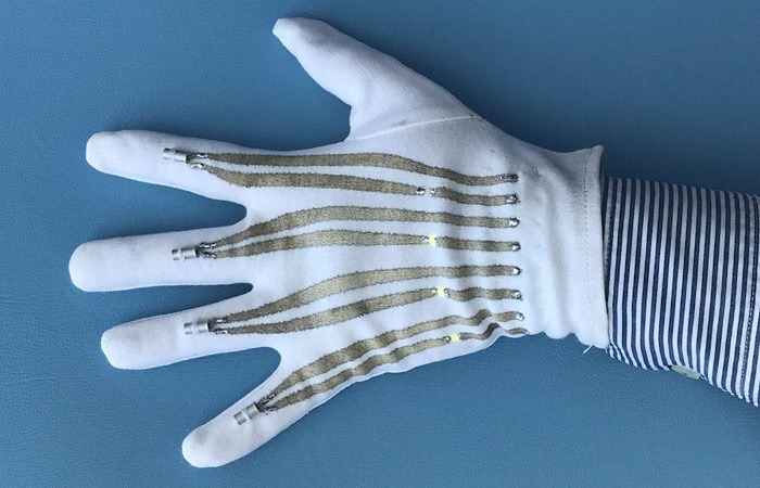 News Wearable Smart Garments Glove