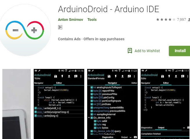 Arduinodroid Ide