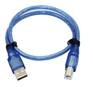 Data Transmission Cable USB 2.0 Type A Male To Type B Male