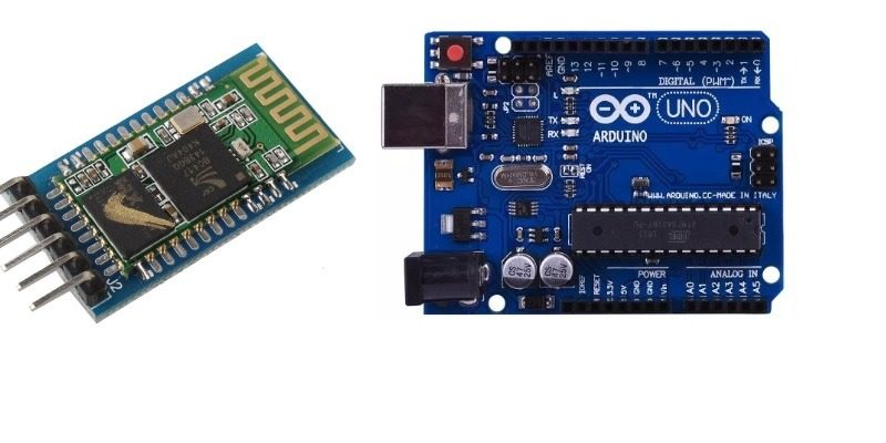 Featured Arduino Uno With Bluetooth Hc 05