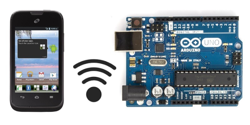 Featured Program Arduino With Android