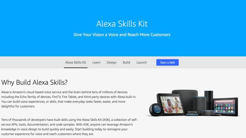 Ai Powered Iot Software Alexa Skills Kit