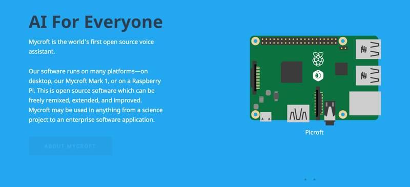 Ai Powered Iot Software Mycroft