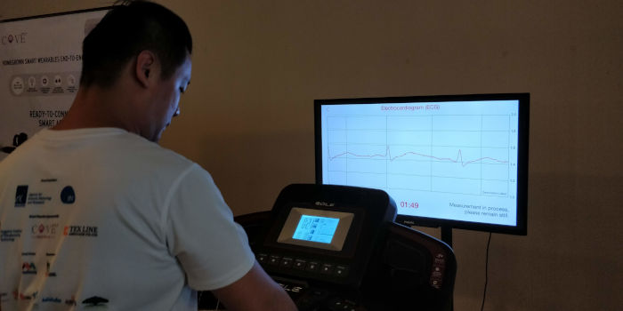 Fitness T Shirt Ecg Monitor