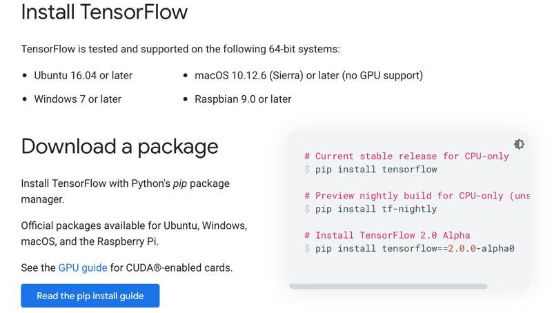 Install Tensorflow Linux Raspberry Pi Install Linux