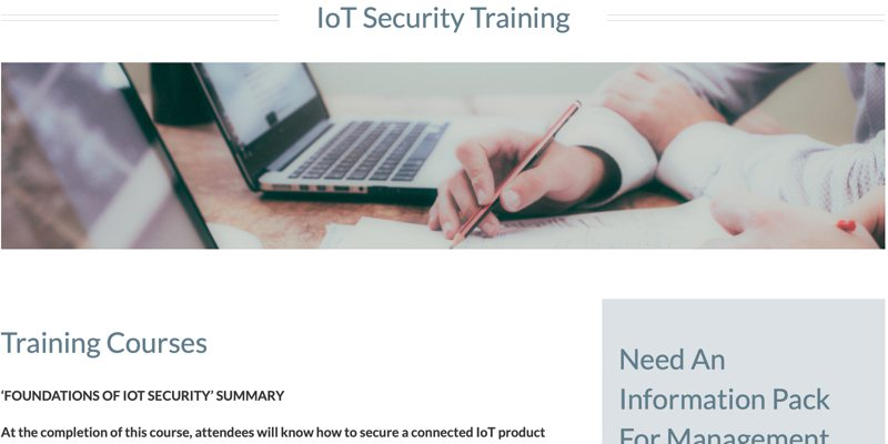 Iot Security Courses Foundations Of Iot Security