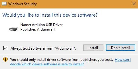 Arduino Usb Driver Install
