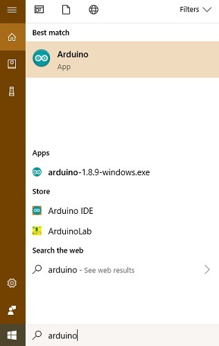 Arduino App Installed Windows 10 Pc