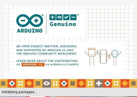 Arduino Initializing