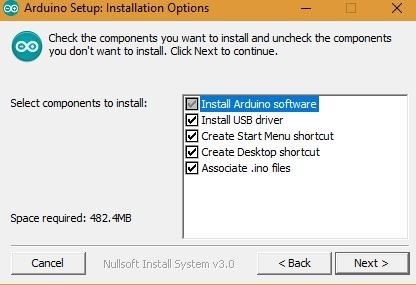 Arduino Installation Options