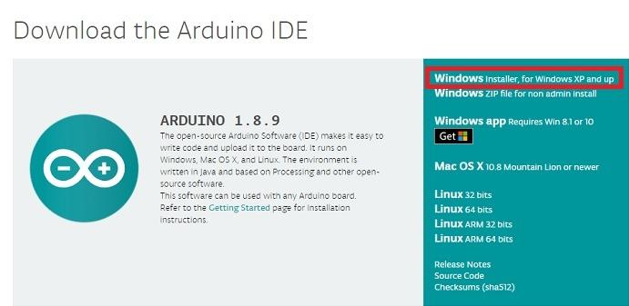 Download Arduino Ide Windows 10