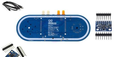 Featured Arduino Esplora Accelerometer Representative