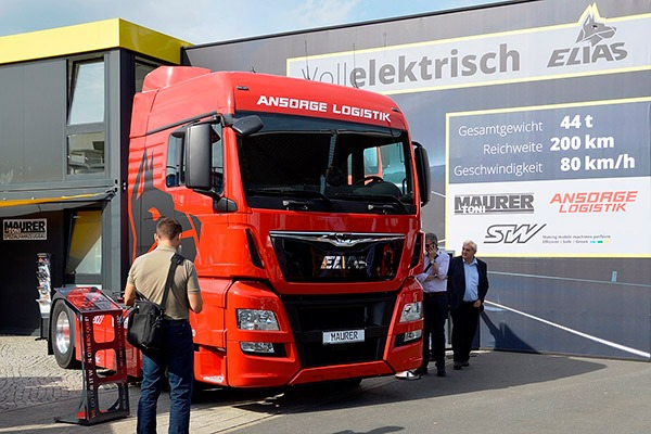Electric Highway Electric Truck Germany