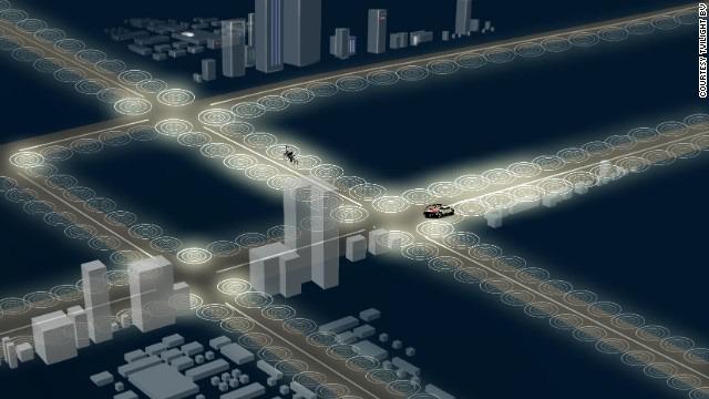 Smart Streetlight Intelligent Lighting