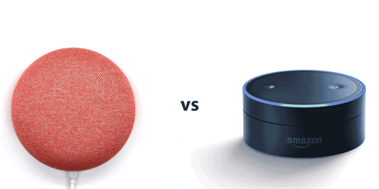 Alexa Vs Google Home Featured
