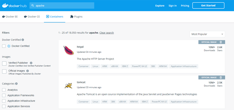 Docker Pi Docker Hub Search