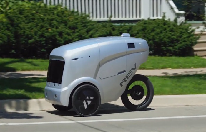 News Autonomous Delivery Bicycle Street