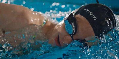 News Form Smart Swim Goggles Underwater