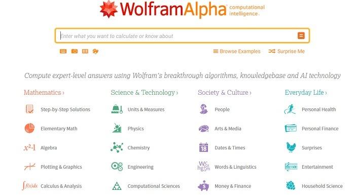 Wolfram Reverse Search Engine