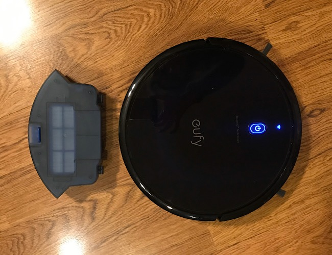 Review Eufy Robovac Dustbin