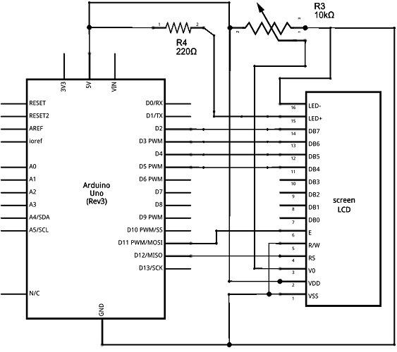 Schematic Arduino Uno Lcd