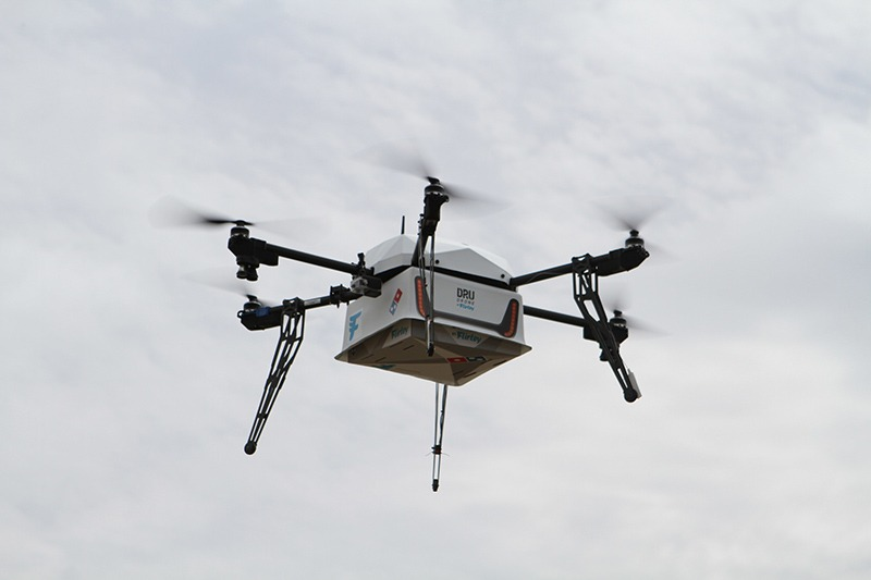 Drone Delivery Flirtey 2