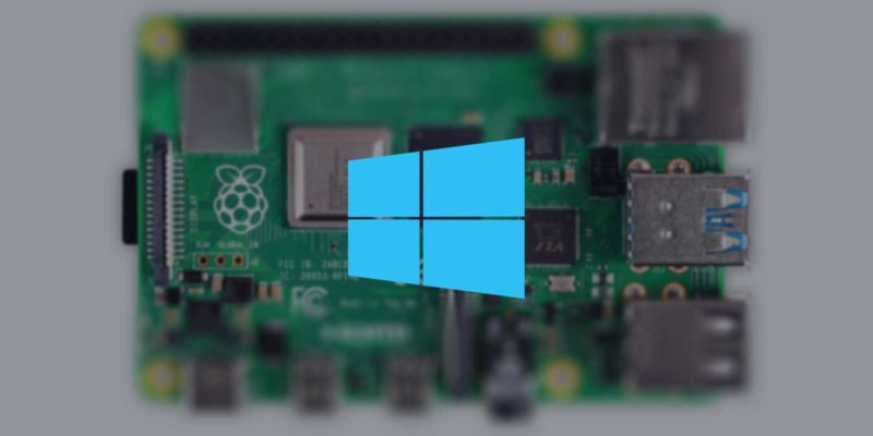 Install Windows 10 Iot Core Raspberry Pi 4 Featured