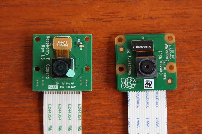 Raspi Camera V2 Compare Old And New