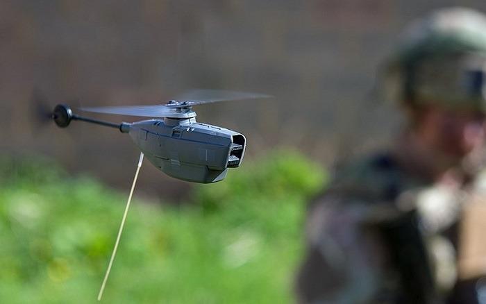 Black Hornet Nano In Flight