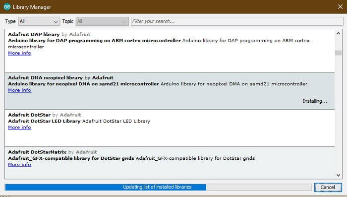 Installing A Library Arduino Ide