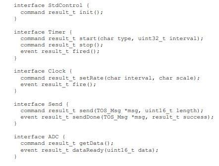 Nesc Code Example