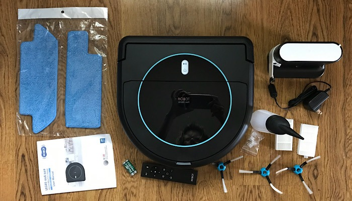 Review Hobot Unboxing