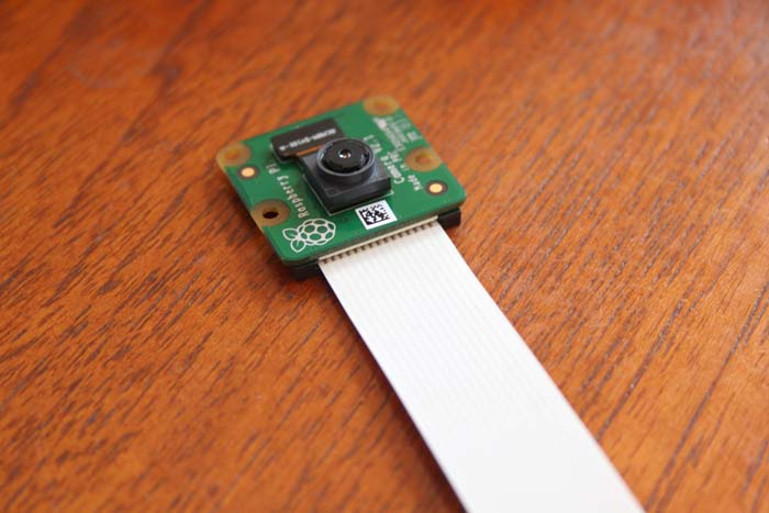 Fitting Raspi Camera Camera And Ribbon
