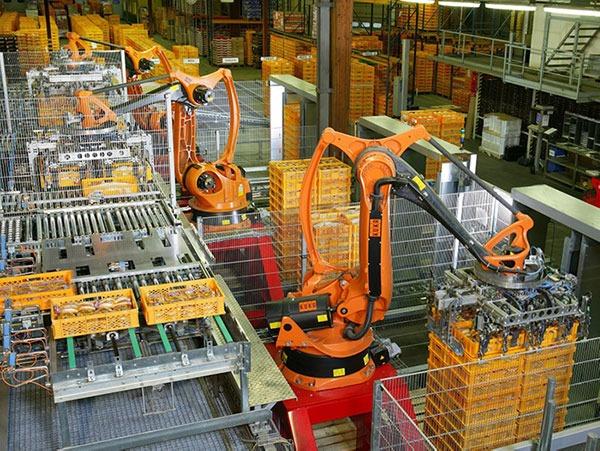Iot Jobs Factory Robots