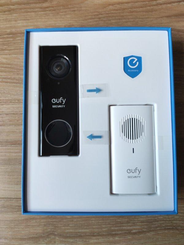 Eufy Video Doorbell In Box