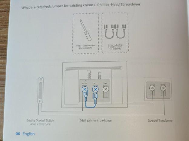 Eufy Video Doorbell Short Transformer Picture
