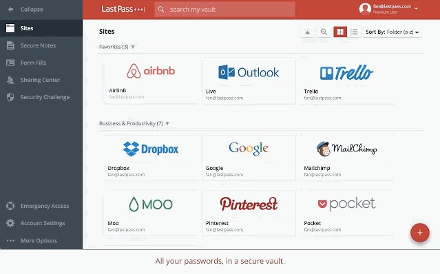 Manage Work Lastpass