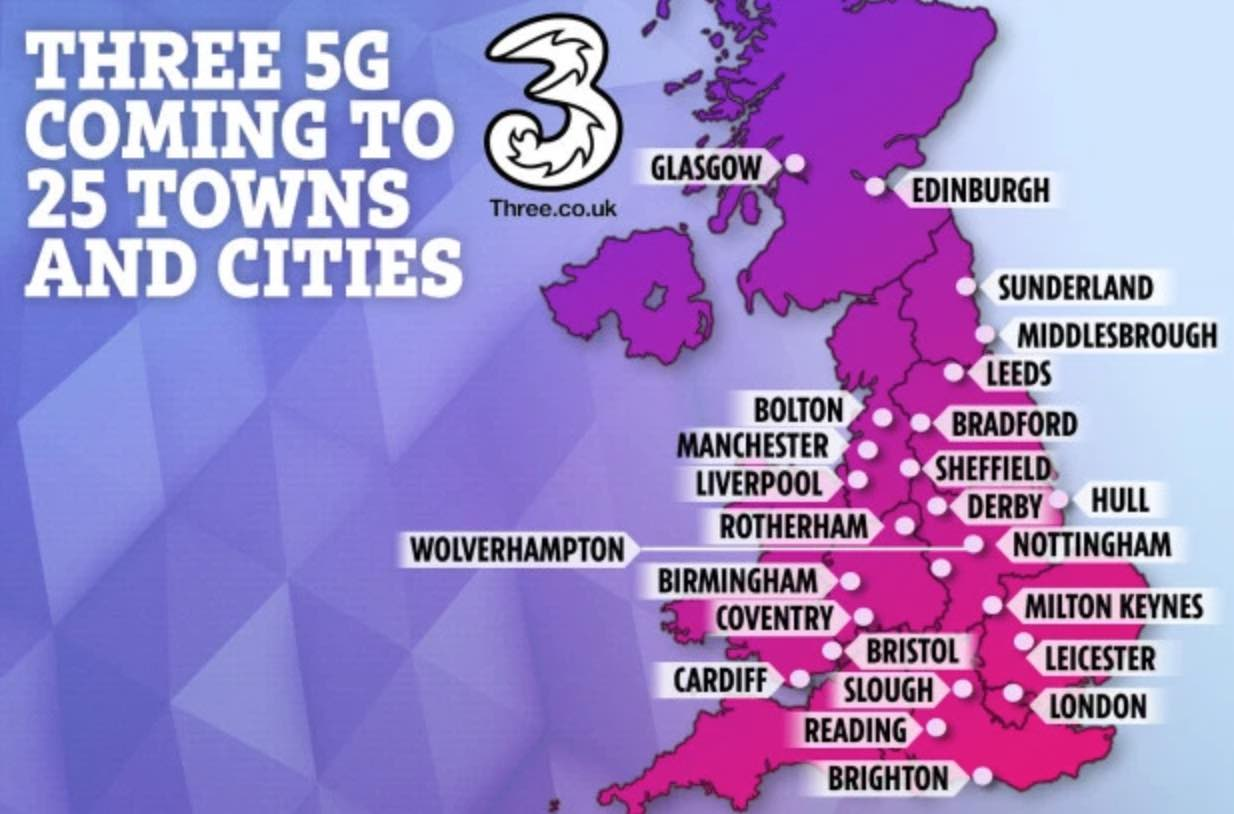 Where Wireless Carriers Stand 5g Unitedkingdom