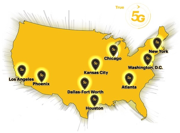 Where Wireless Carriers Stand 5g Sprint