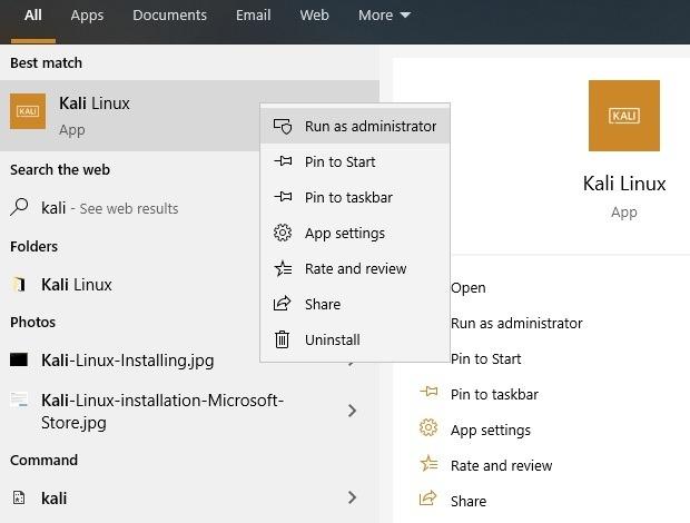 Kali Linux Admin Installation