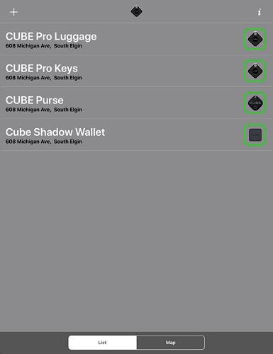 Review Cube List