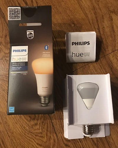 Review Phillips Hue Unboxing