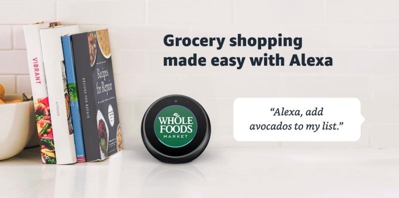 Alexa Kitchen Use Grocery Shopping