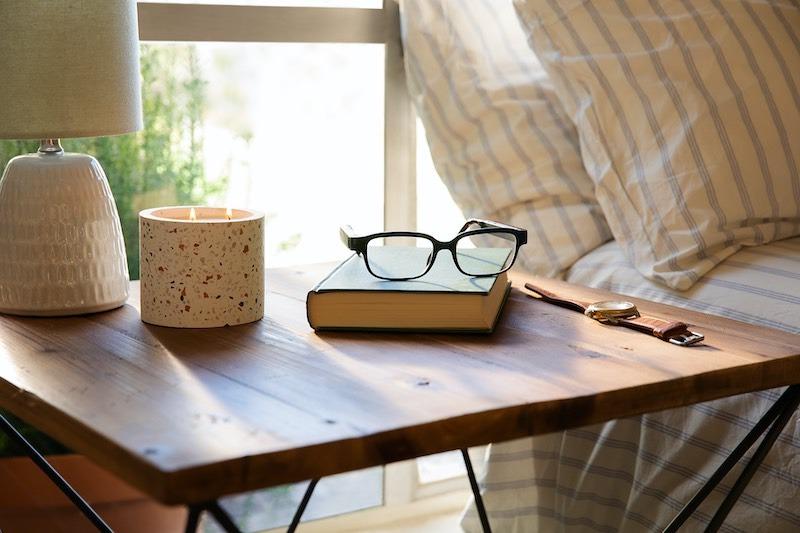 Echo Frames Smart Glasses Nightstand